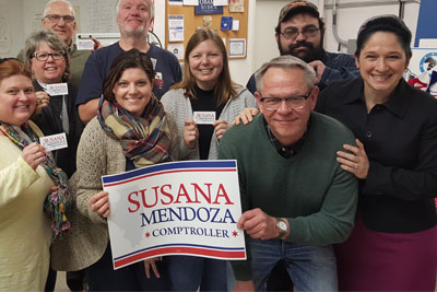 Volunteer for Friends for Susana Mendoza