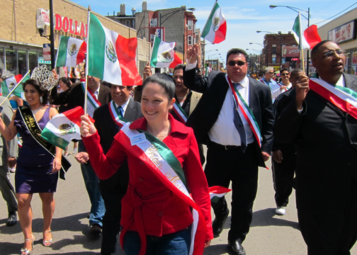 City Clerk Susana Mendoza Mexican Independance Parade