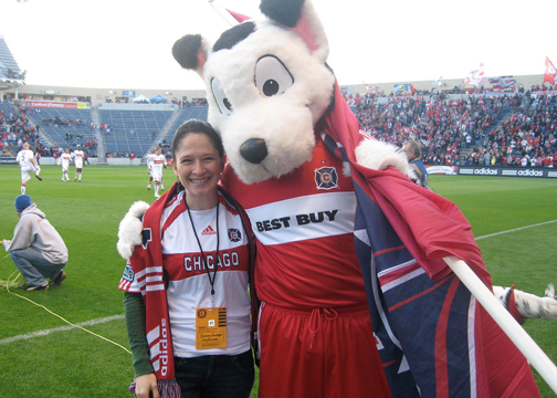 IL State Rep Susana Mendoza Loves The Chicago Fire