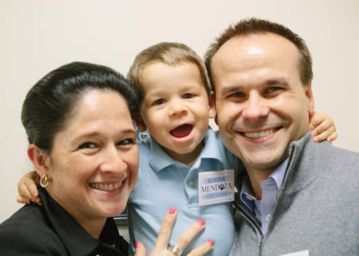 City Clerk Susana Mendoza and Family
