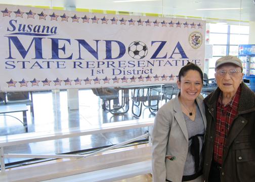 IL State Rep Susana Mendoza Health Fair