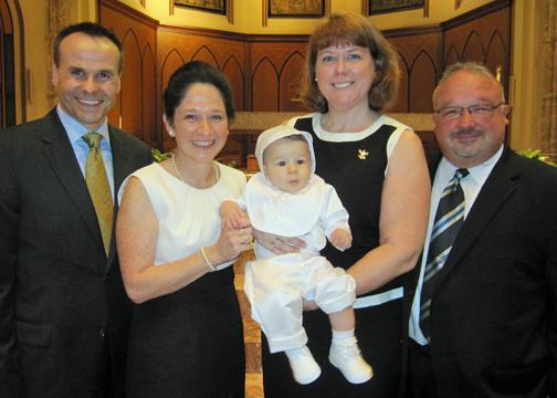 Susana and David's Baptism