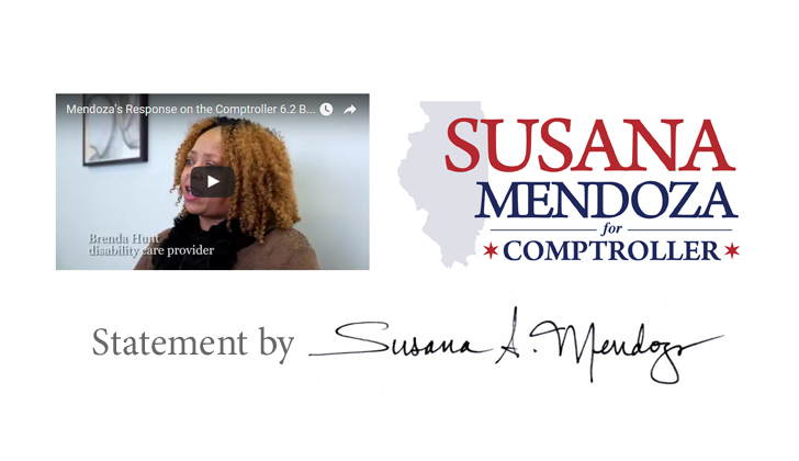 Susana Mendoza Puts a Face on $6.2 Billion Budget