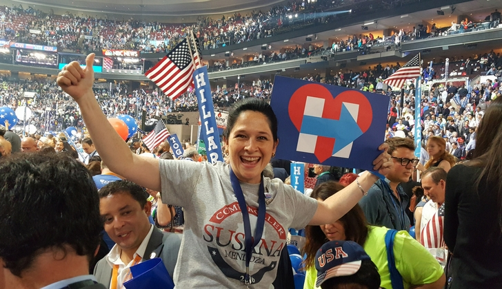 Susana Mendoza in Dem Convenstion