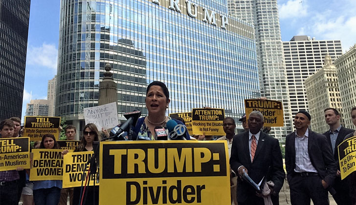 Susana Mendoza Speaks Out Against Trump and Leslie's Silence