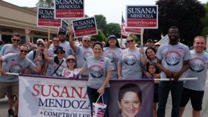 March with Susana Mendoza