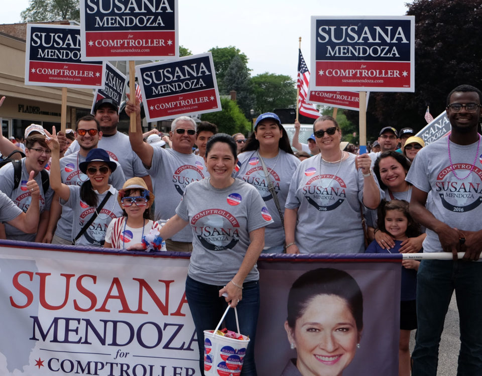 March with Susana Mendoza