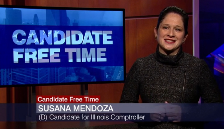 Chicago Tonight Susana Mendoza for IL Comptroller