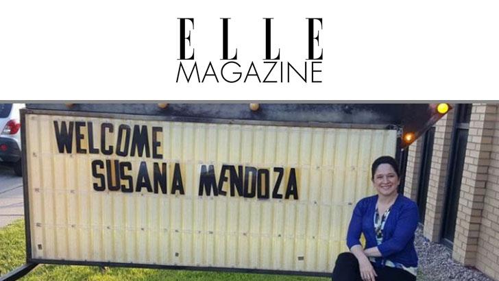 Elle Magazine Susana A. Mendoza