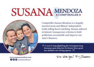 Walk Card Front Susana A. Mendoza