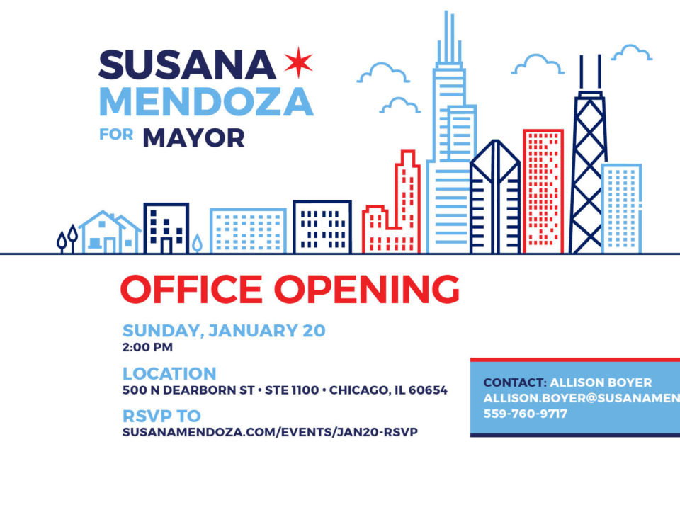 Campaign HQ Susana A. Mendoza