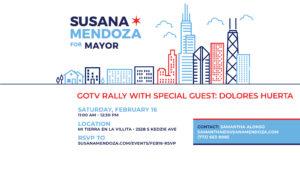 GOTV for Susana A. Mendoza