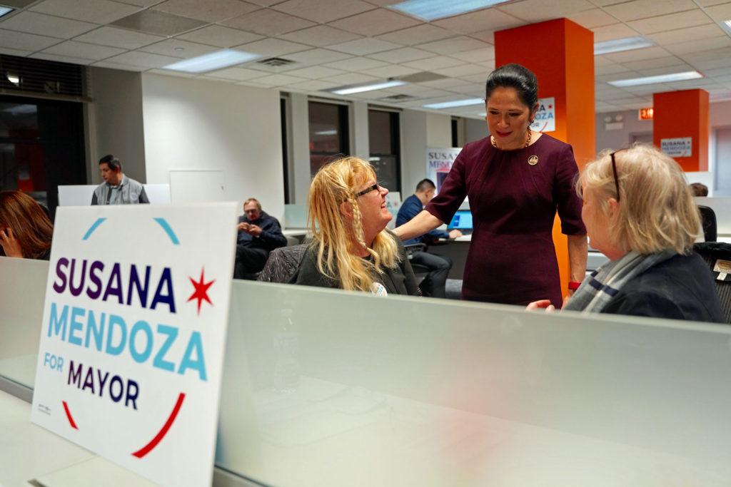 Susana A Mendoza Campaign Office