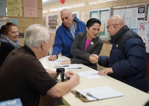 Susana A Mendoza Votes Early