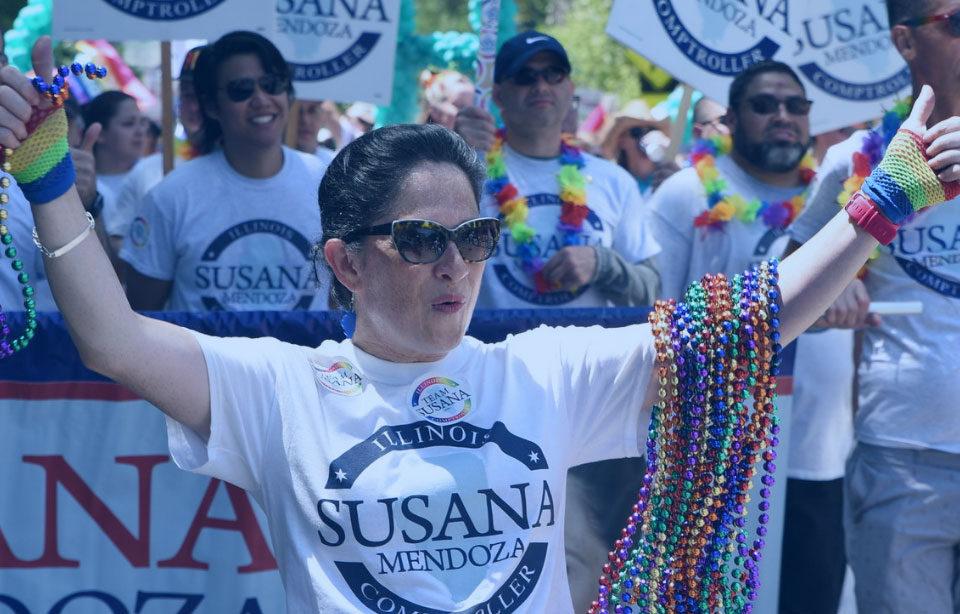 Chicago Pride Parade Susana A Mendoza